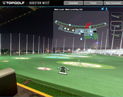 Topgolf Houston custom tour snap shot