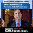 Harry Markopolos Selected as Keynote Speaker for 2014 Secure Cash & Transport Association Conference