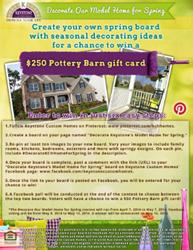 Keystone Custom Homes Pinterest Contest
