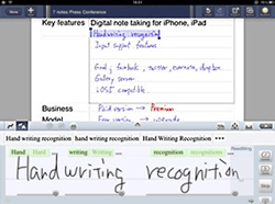 note, handwriting, app, note anytime, mazec