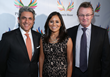 (left to right) Phoenix House California's SVP & Regional Director Pouria Abbassi, Martha Saucedo, executive vice president of External Affairs for AEG, and Phoenix House CEO Howard Meitiner.