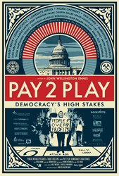 New lithograph released celebrating PAY 2 PLAY, designed by street art legend Shepard Fairey & OBEY GIANT
