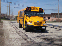 Almost 50 Blue Bird Propane Vision buses will begin operation for the 2014/15 school year in the Cleveland Metropolitan School District.