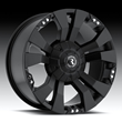 Raceline Industries Rampage Black Wheel