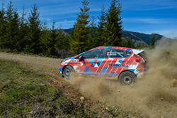 North America's First 2wd Ford Fiesta ST will debut this weekend at the Oregon Trail Rally with Team O'Neil driver, Andrew Comrie-Picard.