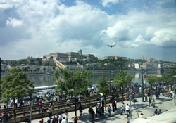 The Air Show Provided a Stunning Backdrop to the AQR QRCA Conference in Budapest