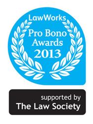 LawWorks Pro Bono Awards 2014