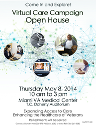 VA Virtual Care Showcase at the Miami VA Healthcare System May 8 from 10 a.m. – 3 p.m.