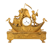 Chronos & Amour Silk Thread Mantle Clock