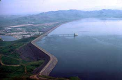 B.F. Sisk Dam and San Luis Reservoir