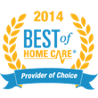 Home Care Assistance of Utah Receives 2014 Best of Home Care®...