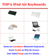 Best iPad Air Bluetooth Keyboards