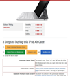 Price comparison of tablet cases