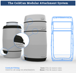 ColdCan attachment system - CryoLok.