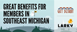 Detroit Regional Chamber Partners with Larky to Provide Members Easy...
