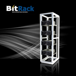 BitRack Bitcoin Mining Rig IT Rack Enclosure