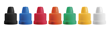 Comar SecureCap closures are available in a variety of colors