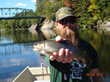 A prize trout from the Androscoggin River