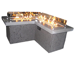 The Pointe Gas Fire Pit Table