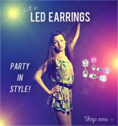 LED Lighted Earrings