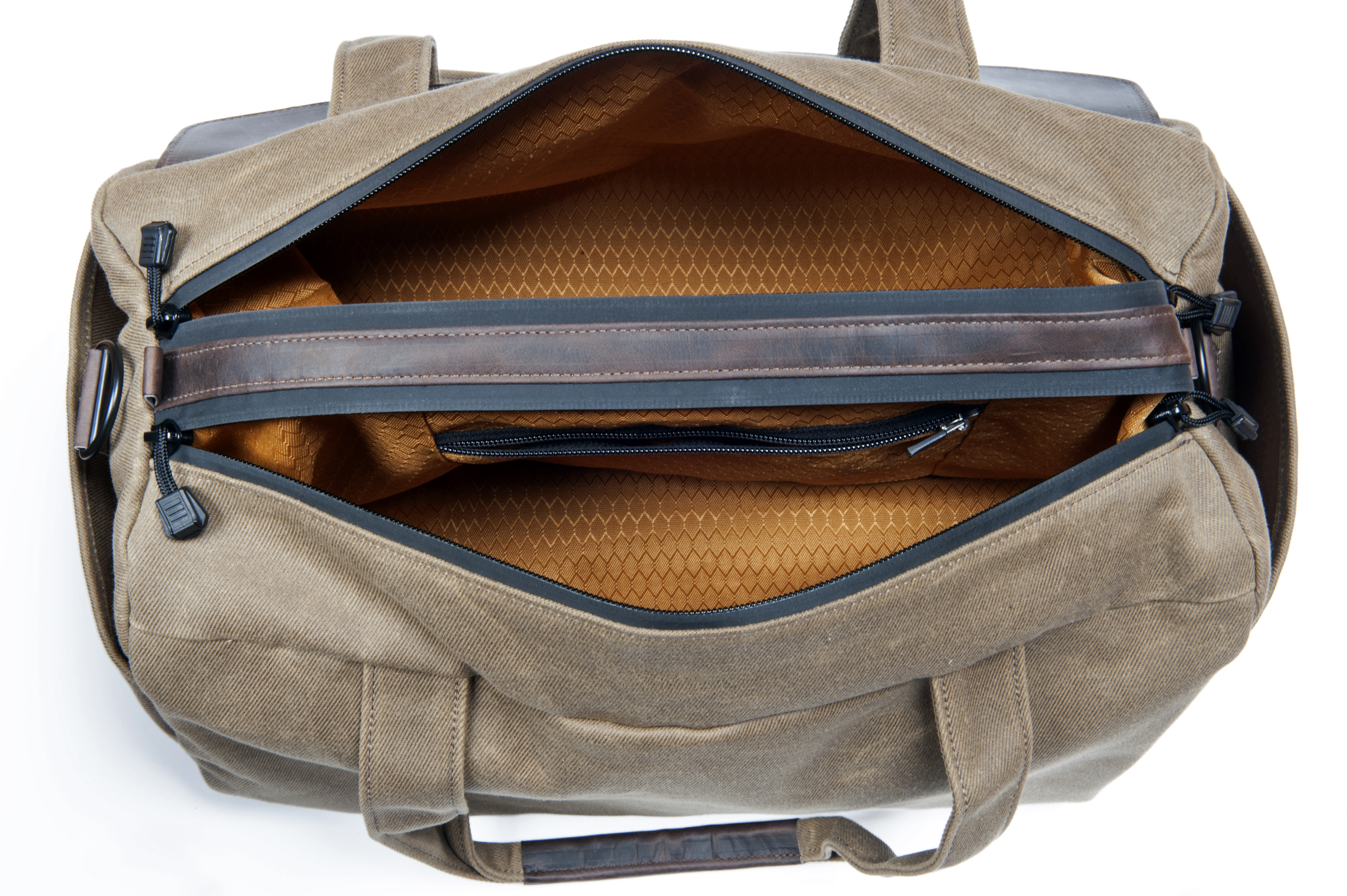 The Outback Duffel Dual Main Compartment Option