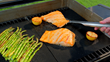 The original Miracle Grill Mat not only wipes clean but also delivers grilling perfection, ensuring meat, fish and veggies won't stick or fall into the grill.