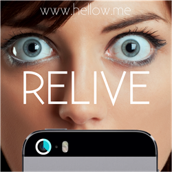 Relive your memories www.hellow.me