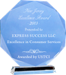 Express Success LLC Receives 2013 New Jersey Excellence Award