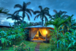 Comfort and luxury situated within the stunning beauty of nature - Dusk falls after a day at a Metamorphosis Corporate Sustainability Retreat in Costa Rica. Photo credit: Pura Vida Resort and Spa