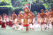 Hawaii students perform traditional Samoan practices and life skills during the High School Samoan Cultural Arts Festival.