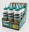 The new merchandising cartons for store shelves display Titebond's Performance Meter.