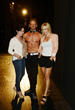 "Ian Ziering with ""90210"" co-stars Shannen Doherty and Jennie Garth. (Photo by Denise Truscello)."