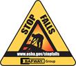 Stop falls logo