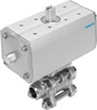 The New Festo Approach to Ball Valve Assemblies Delivers Many Process...
