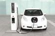 Companies that install EV chargers such as this one received up to $15,000 from Nissan.