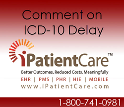 ICD-10 Transition Delay