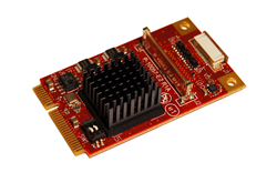VL-MPEe-V5, Mini PCIe, Video Expansion, Expansion Module, PC/104, LVDS, VGA