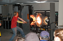 Glassblowing Class at Jewell Gardens