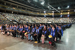 Graduates from the 2013 Commencement for Salt Lake Community College.