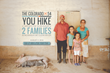 You hike, two families get access to clean water.