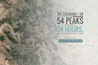 54 Peaks, 24 Hours, A Chance to Change the World.