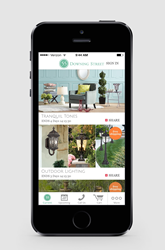 Easy-to-use home decor shopping app from 55 Downing Street