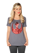 "Show your loyalty to the Rebel Alliance with this stunning red sequined fashion top featuring the Rebel Alliance's ""symbol of hope."" Available at Star Wars Weekends."