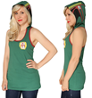 Inspired by everyone's favorite bounty hunter, this new Her Universe Boba Fett hooded tank is right on target for Fett loving fans. Available at Star Wars Weekends.