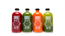 Raw, cold pressed juice