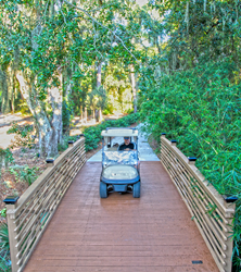 TPC Sawgrass Timber Cart Bridge