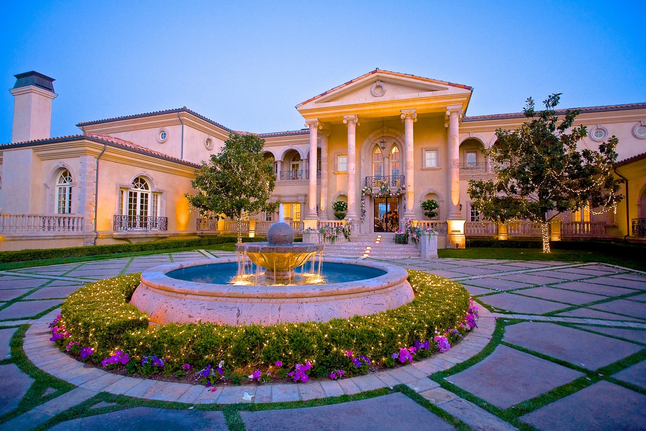 Italian luxury villa in southern california once lived in for Expensive homes for sale in california