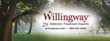 Willingway is a privately owned hospital specializing in the treatment of alcoholism and drug addiction.