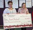 Wisc. school cook Ingrid Rockwell (right) wins $1,000 in Cranberry Marketing Committee/Wisc. School Foodservice Recipe Contest
