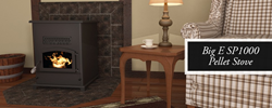New Breckwell Big E Pellet Stove